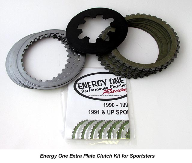 Energy One Extra Plate Clutch Kit for Harley Davidson Sportsters