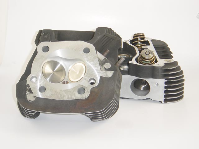 HAMMER PERFORMANCE CRUSH CNC Ported 2007 XL1200 Sportster Cylinder Heads