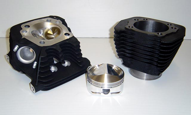 CNC Ported Buell Blast Cylinder Head and 600cc Kit