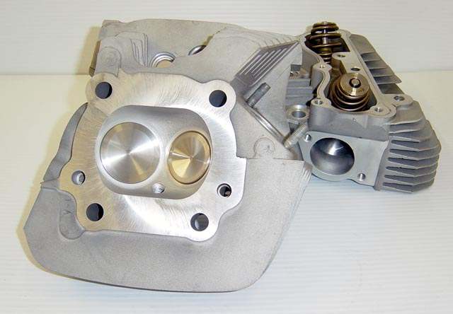 CNC Ported Harley Twin Cam Heads
