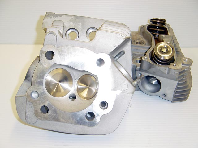 CNC Ported Harely Davidson Evolution Big Twin Cylinder Heads