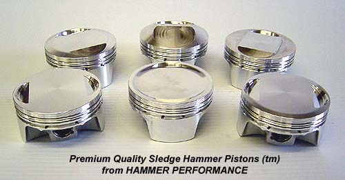 High Performance Sledge Hammer Pistons for Harley Davidson XL Sportster and Buell Models