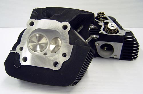 CNC Ported Cylinder Heads for a Harley Davidson Twin Cam
