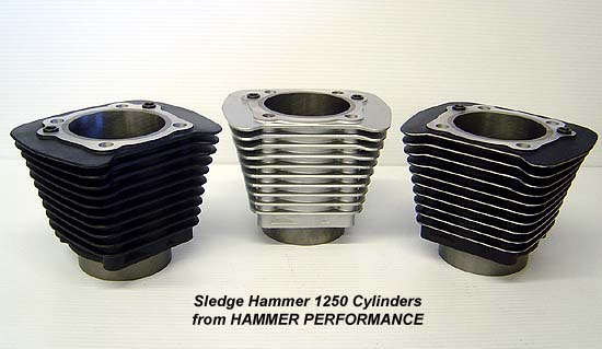 High Performance 1250 Kit Cylinders for Harley Davidson XL Sportster and Buell Models