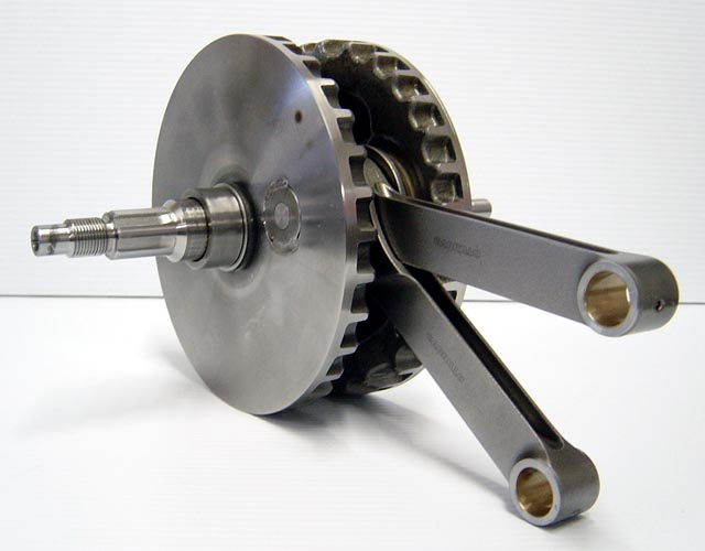 XL Sportster Pressed Crankshaft Flywheel Assembly with Carrillo Rods